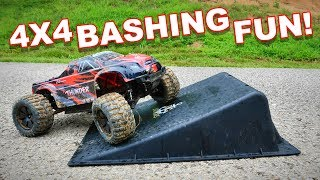 RC Monster Truck Bashing 'Till It Breaks! - ZD Racing ZMT - 10 / 10427 - S / 9106 - TheRcSaylors