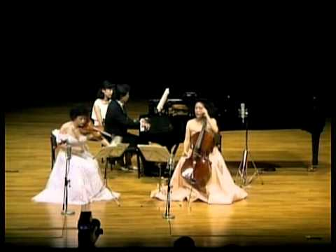 Chung Trio plays Beethoven Piano Trio No.1 (Mov 4)