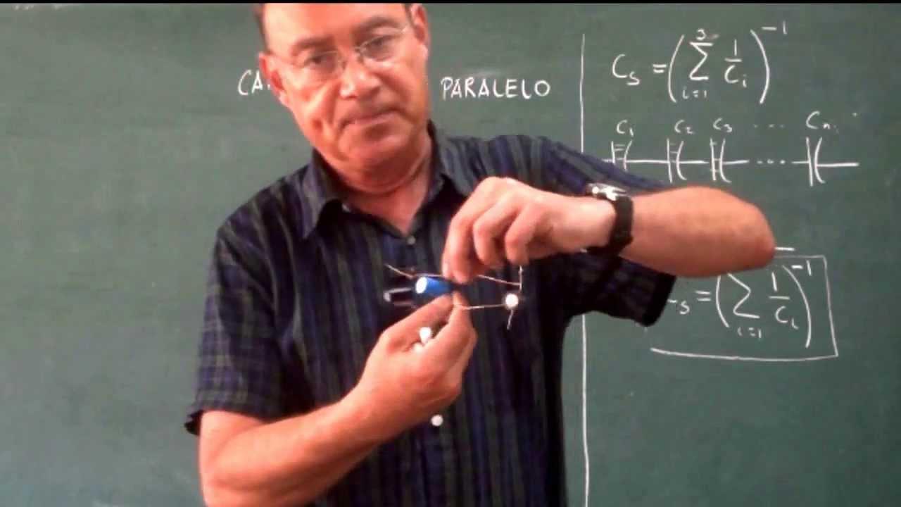 Clase 46 Capacitores En Serie Y Paralelo Mas Ejemplo