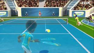 Kinect Sports Season 2 Demo: Tennis Gameplay HD