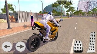 Furious City Moto Bike Racer 4 3D #Dirt Motor Cycle Racer Game #Bike Game