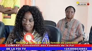 CONVENTION DES FEMMES DE LA FOI AVEC LE COUPLE BULOBA