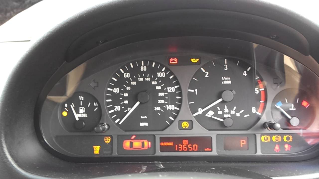 Bmw E46 330d Not Starting After Sitting Many Months