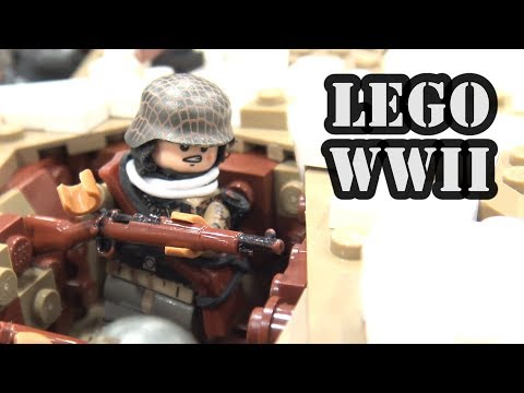 LEGO WWII Battle of Narva Bridgehead 1944 | BrickFair Virginia 2017