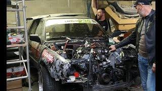 | E30 V8 # 6 | Le V8 démarre pour la première fois ! - PSR TV -