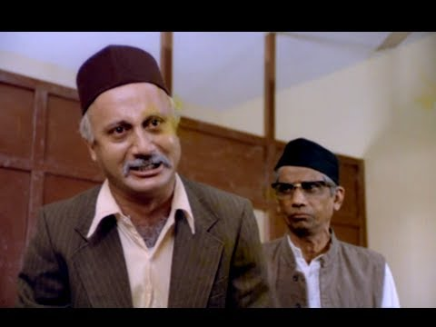 Anupam Kher Reacts On The Corrupt System - Custom Department Superhit Scene - Saaransh