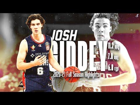 Josh Giddey ADELAIDE 36ERS 2020-21 Full Season Highlights   11.2 PPG 7.0 APG 6.8 RPG