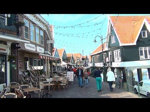 The Netherlands Volendam Boat To Island Marken