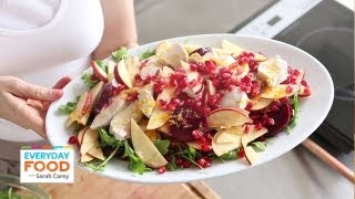 Chicken Salad With Apple, Pomegranate, And Beet | Everyday Food With Sarah Carey