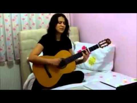 Duygularıma Esir Oluyorum Seni Görünce Amatör Gitar Cover