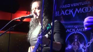 """Paco Ventura Black Moon @ We Rock - Madrid - """"Vencer Tu Miedo / El Juego"""" - 29/10/15"""