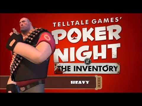 Poker Night At The Inventory Dialogue: Heavy's Reactions & Responses