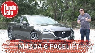 Pandu Uji Mazda6 2.0L Facelift - Lagi Mewah, Lagi Cun!