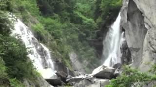 ドンドコ沢の滝(南精進ヶ滝、鳳凰の滝、白糸の滝)