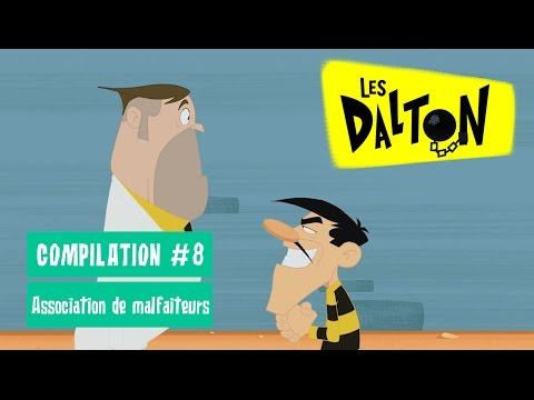 Les Dalton _ Association de malfaiteurs _ Compilation en HD