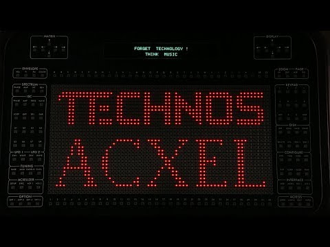 Technos Acxel Additive Synthesizer Sequenced By Elektron Digitakt