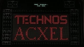Technos Acxel Additive Synthesizer Sequenced By Elektron Digitakt