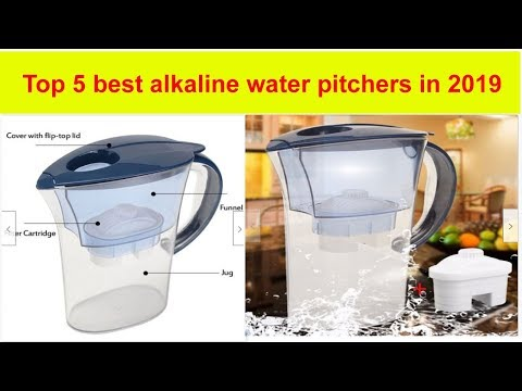 5 Best Alkaline Water Pitchers In 2019