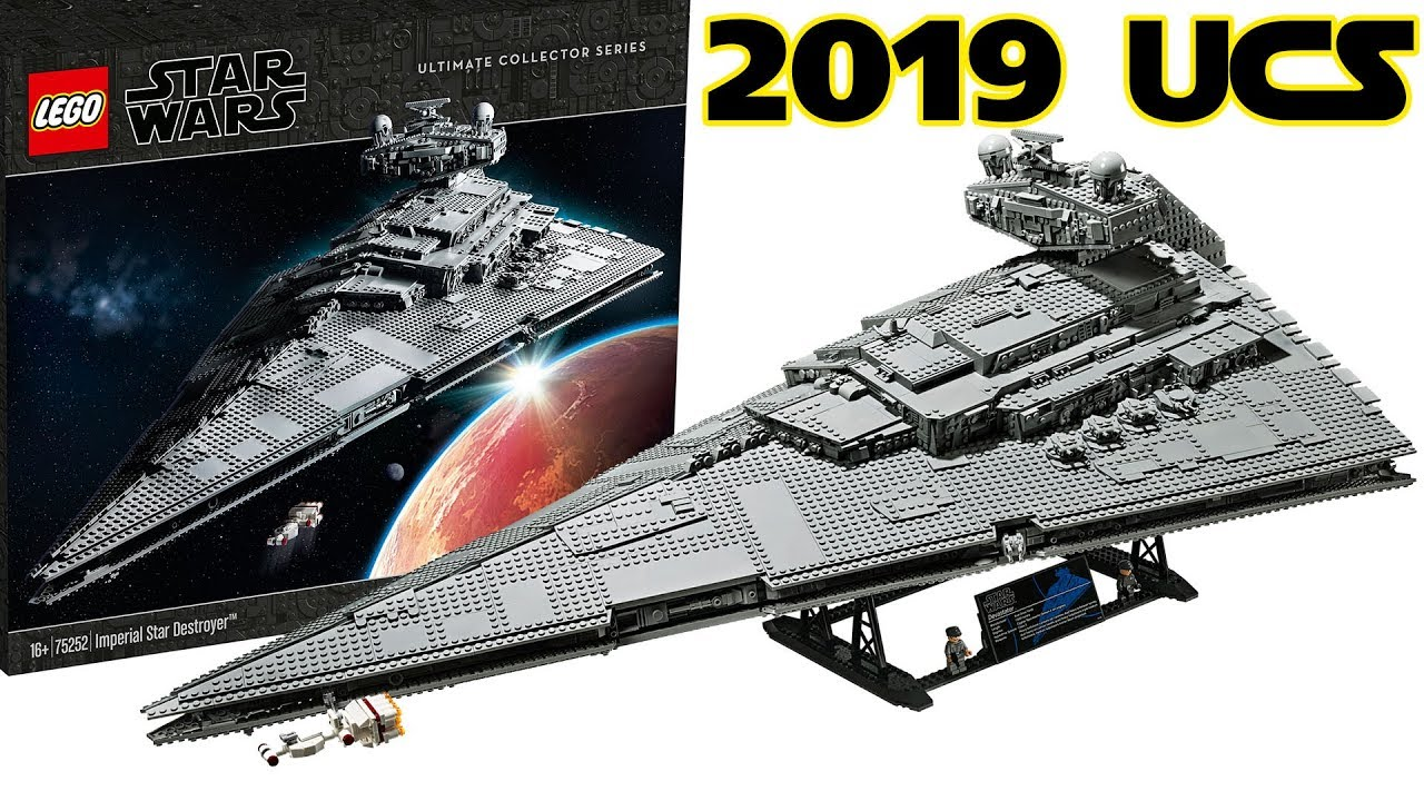 LEGO Star Wars 2019 UCS Star Destroyer 75252 Preview