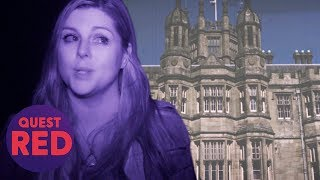 Communicating With A 811 Year-Old-Spirit At Margarm Castle | Paranormal Lockdown UK