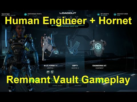 Human Engineer + Hornet (Remnant Vault, Gold)