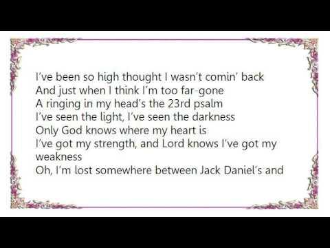 Chase Rice - Jack Daniel'sJesus Lyrics