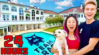 24 HOURS IN THE NEW TEAM RAR HOUSE!!