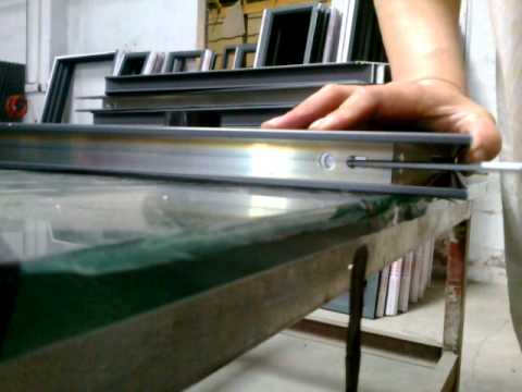 Aluminum Windows Amp Doors Corner Joint Youtube