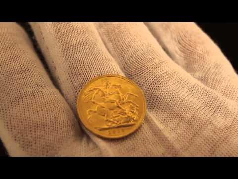 1909 British Full Gold Sovereign