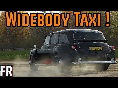 Forza Horizon 4 - Widebody Crazy Taxi !