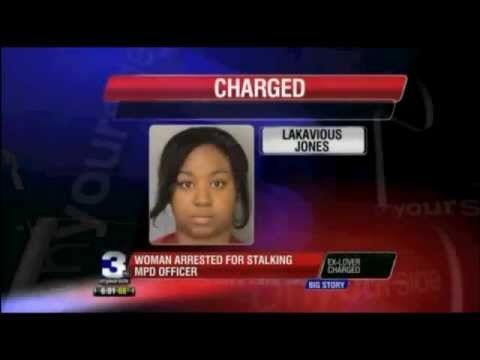 Memphis Woman Is Arrested & Charged WITH STALKING A POLICE OFFICER!!!