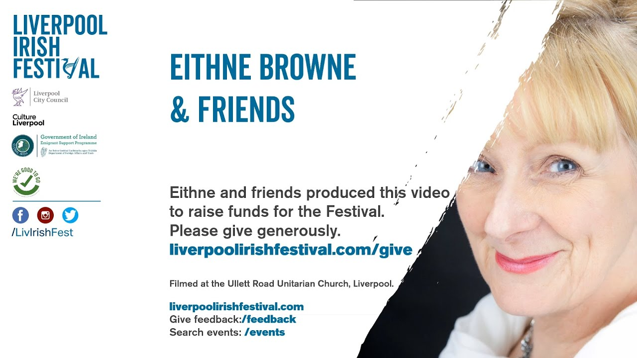 Liverpool Irish Festival 'Eithne Browne and friends'