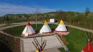 Wioska Indiańska w Chorwacji / Indian camp in Croatia