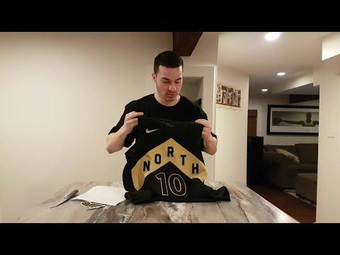 OVO x TORONTO RAPTORS DEMAR DEROZAN JERSEY UNBOXING NBA NIKE 2018 DRAKE