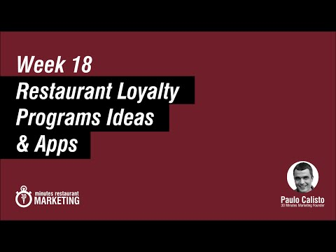 Loyalty Programs for Restaurants