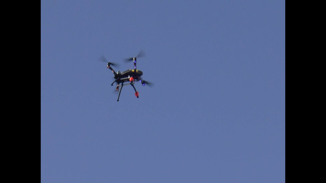 Demonstration Flight Helimax Form 500 Quadcopter - YouTube