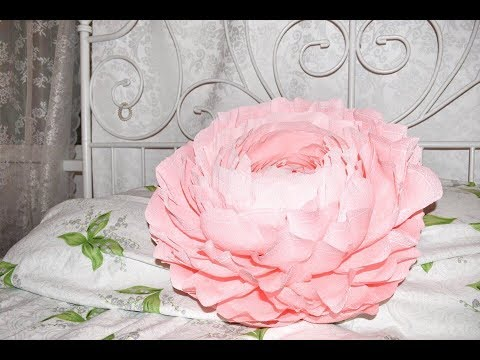 видео: Огромный цветок своими руками)