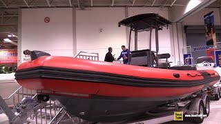 2015 Zodiac Pro Classic - Rec Pro 650 Inflatable Boat - Walkaround - 2015 Toronto Boat Show