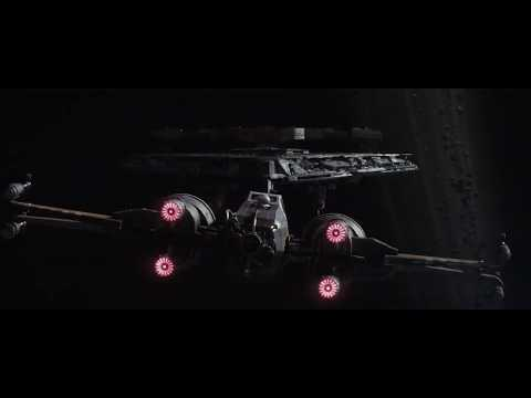 Star Wars The Last Jedi: Poe Vs First Order Fleet Part 1