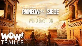 Rainbow Six Siege- Operation Wind Bastion - Fortress Trailer