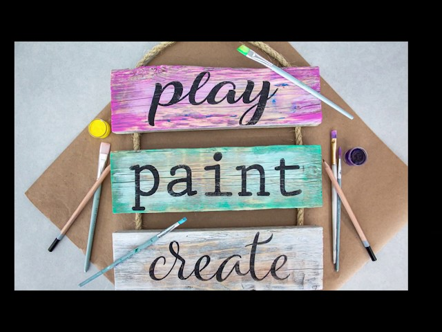 Paint Play Create - Ladder Demo (Beachwood Colors)