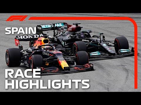 Race Highlights   2021 Spanish Grand Prix