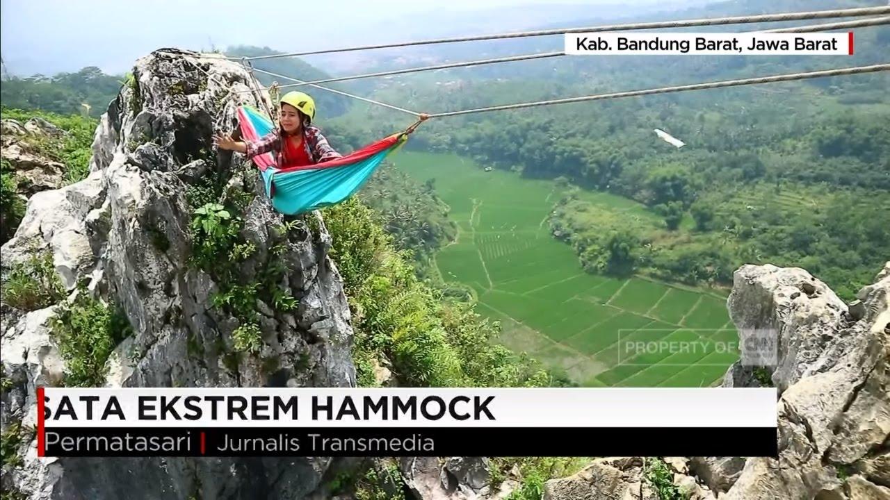 Wisata Ekstrem Hammock