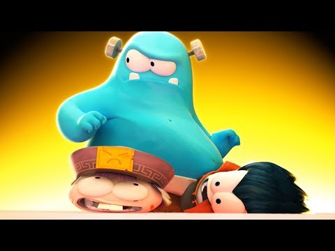 Funny Animated Cartoon   Spookiz   Don't Mess With Frankie   스푸키즈   Cartoon For Children