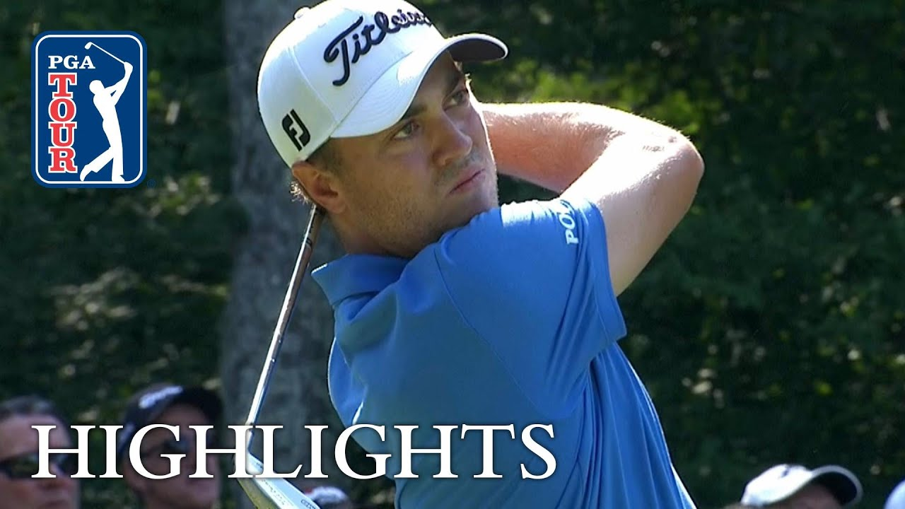 A Rough Start, but a Great Day for Justin Thomas at BMW Championship