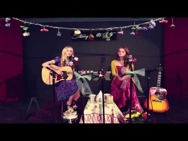 Fleetwood Mac - Landslide (StageIt Cover by Justine Dorsey & Kerris Dorsey)