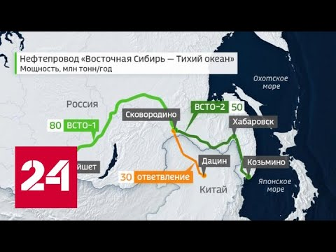 Восточный маршрут: ВСТО выходит на полную мощность - Россия 24