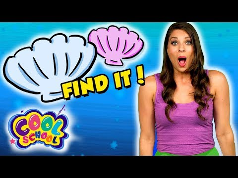 Can You Find Ariel's Seashells? The Little Mermaid Story Time with Ms. Booksy! | Find It Game