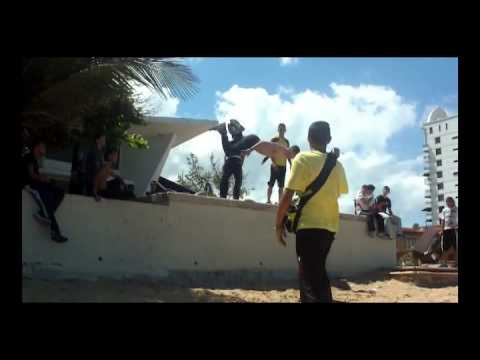 Parkour Free Running & Tricking on Puerto Rico