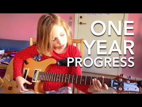 One Year Progress On Guitar